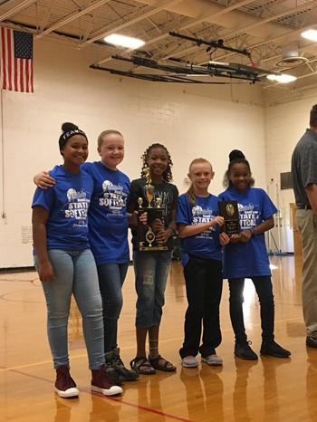 5th Graders Softball girls
