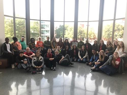 GATE & Book Club students field trip