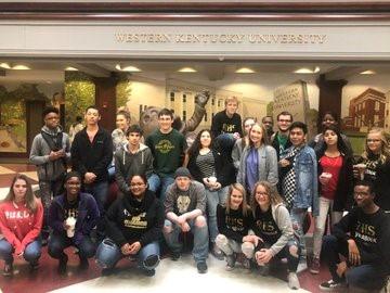 Journalism Scholars Field Trip