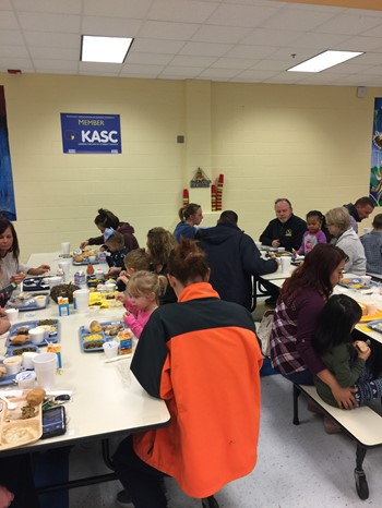 SES Thanksgiving Meal