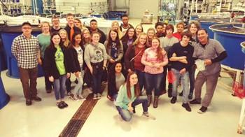 RHS Students Take Part in KSU Aquaculture Grant