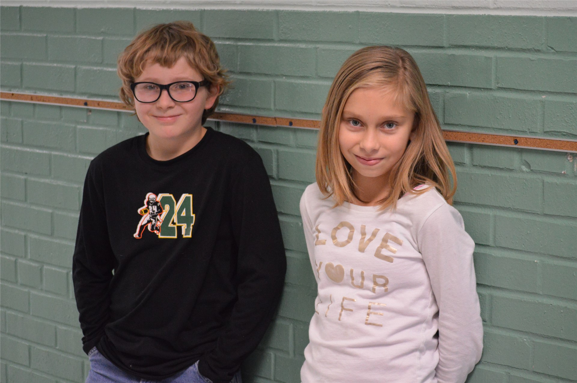 5th Grade:  Elias Hughes, Megan Beachy