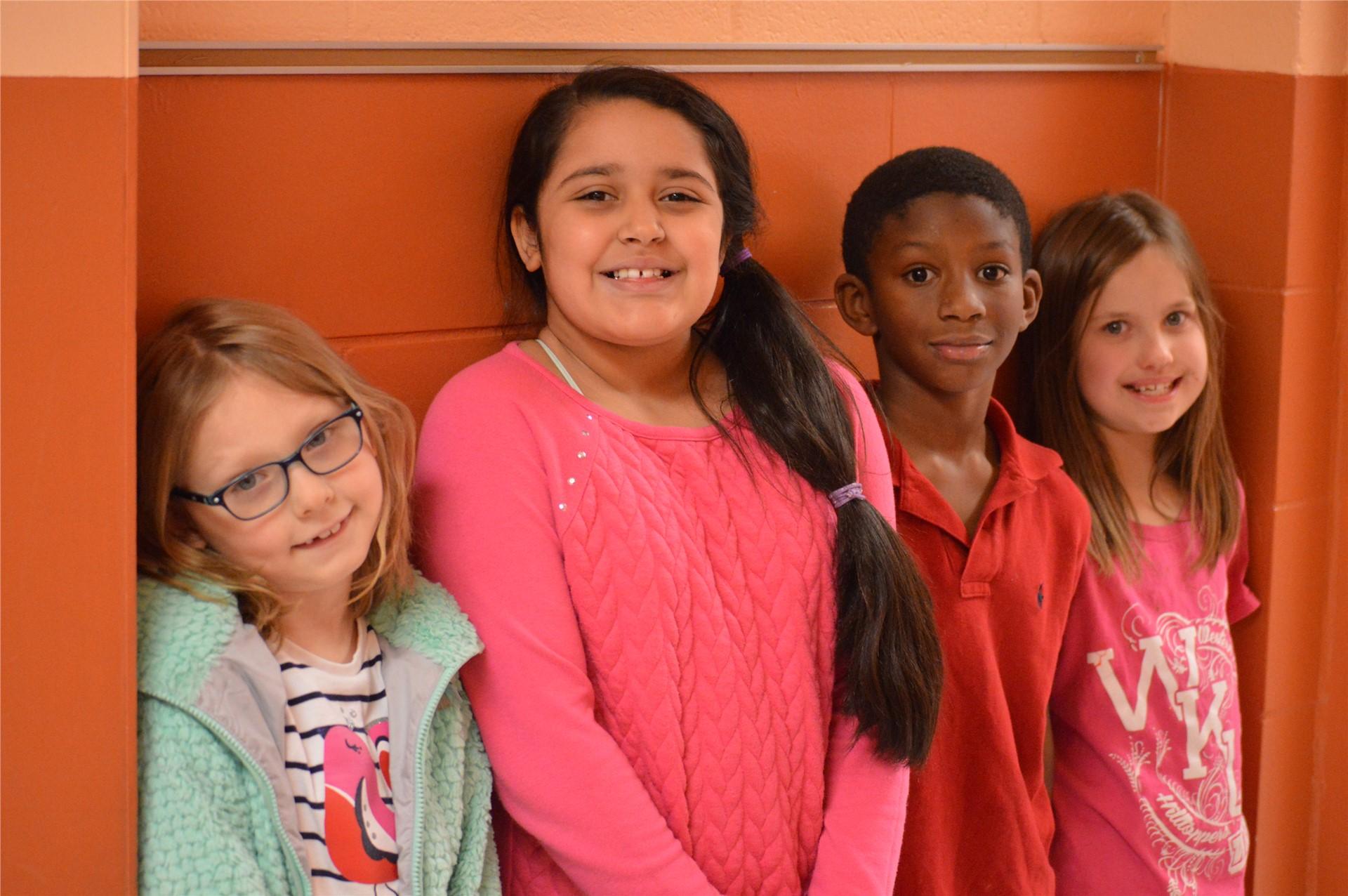 3rd Grade:  Aliza Wilson, Brieyia Fox, La'bryan Nourse, Zoey Hoosier