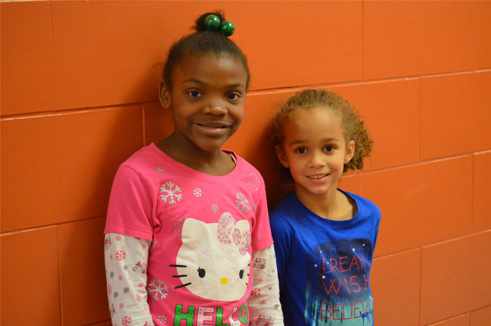 2nd Grade:  Samyra Jefferson, Adaya Haycraft