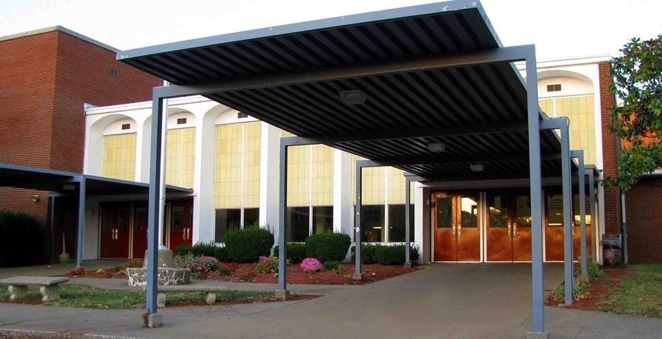 Russellville High School Entrance
